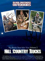 Hill Country Bucks DVD By Blood Brothers Outdoors